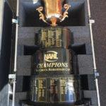 trophy in foam insert