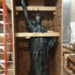 Statue of Liberty crated