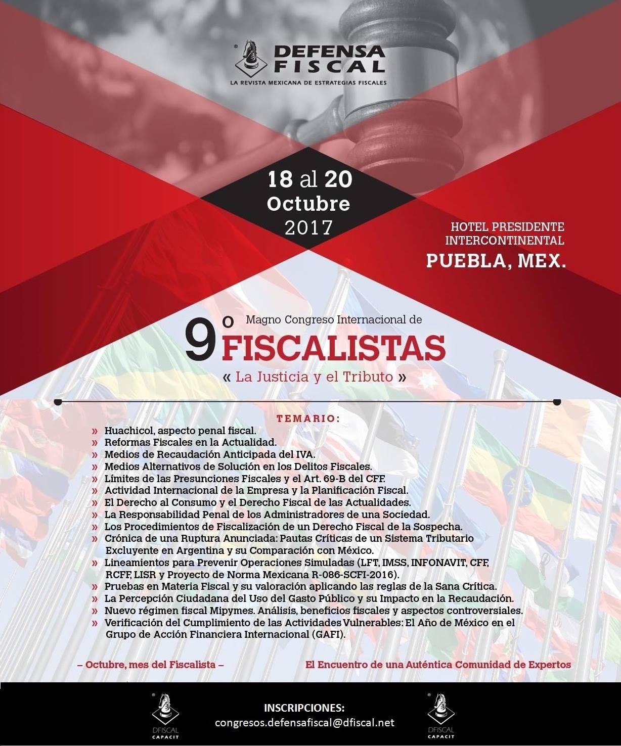 9° Magno Congreso Internacional de Fiscalistas