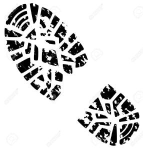 8903361-vector-illustration-of-man-s-grunge-foot-print-Stock-Vector-boot-print-footprint