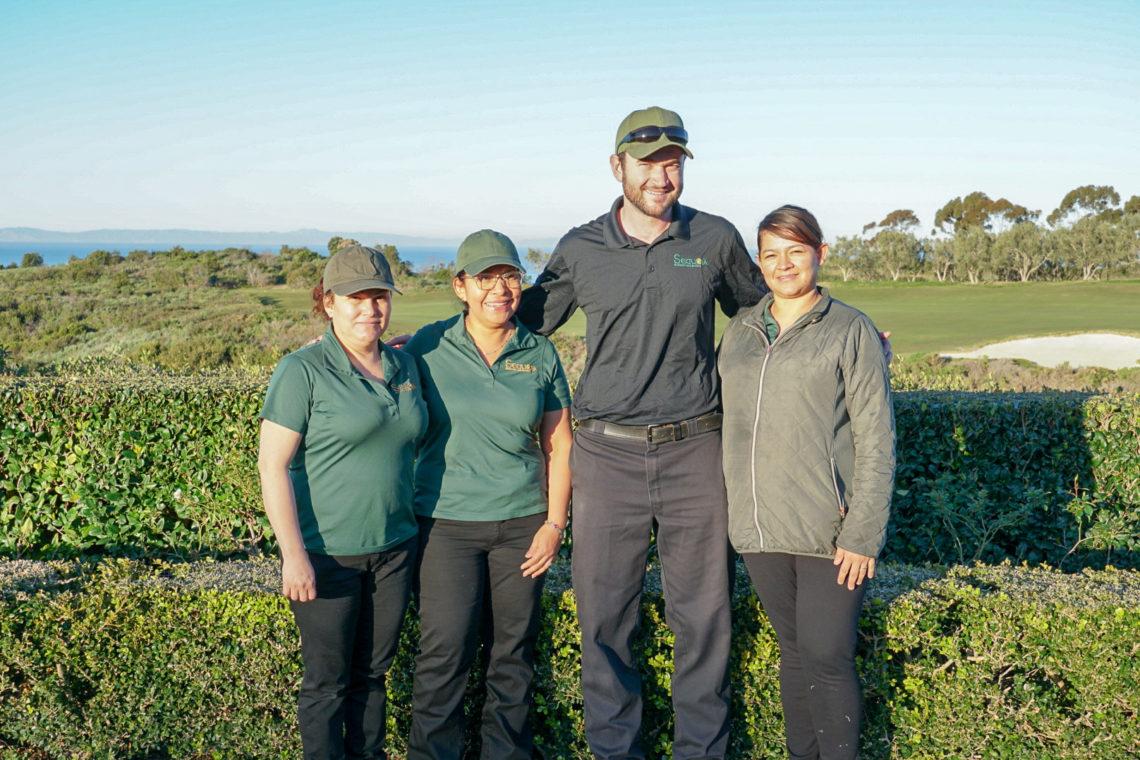 Interior team at Pelican Hill