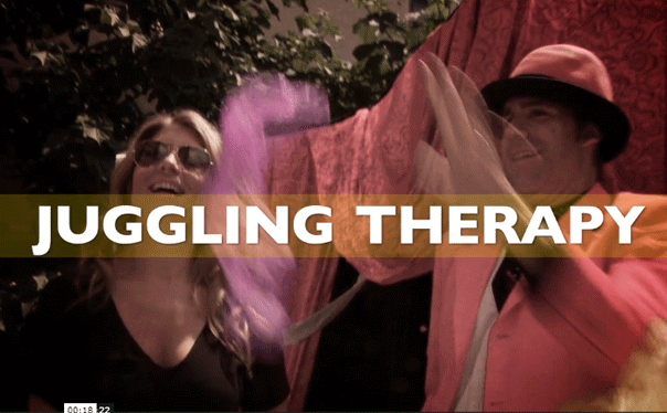Juggling Therapy w/ Genevieve Gorder