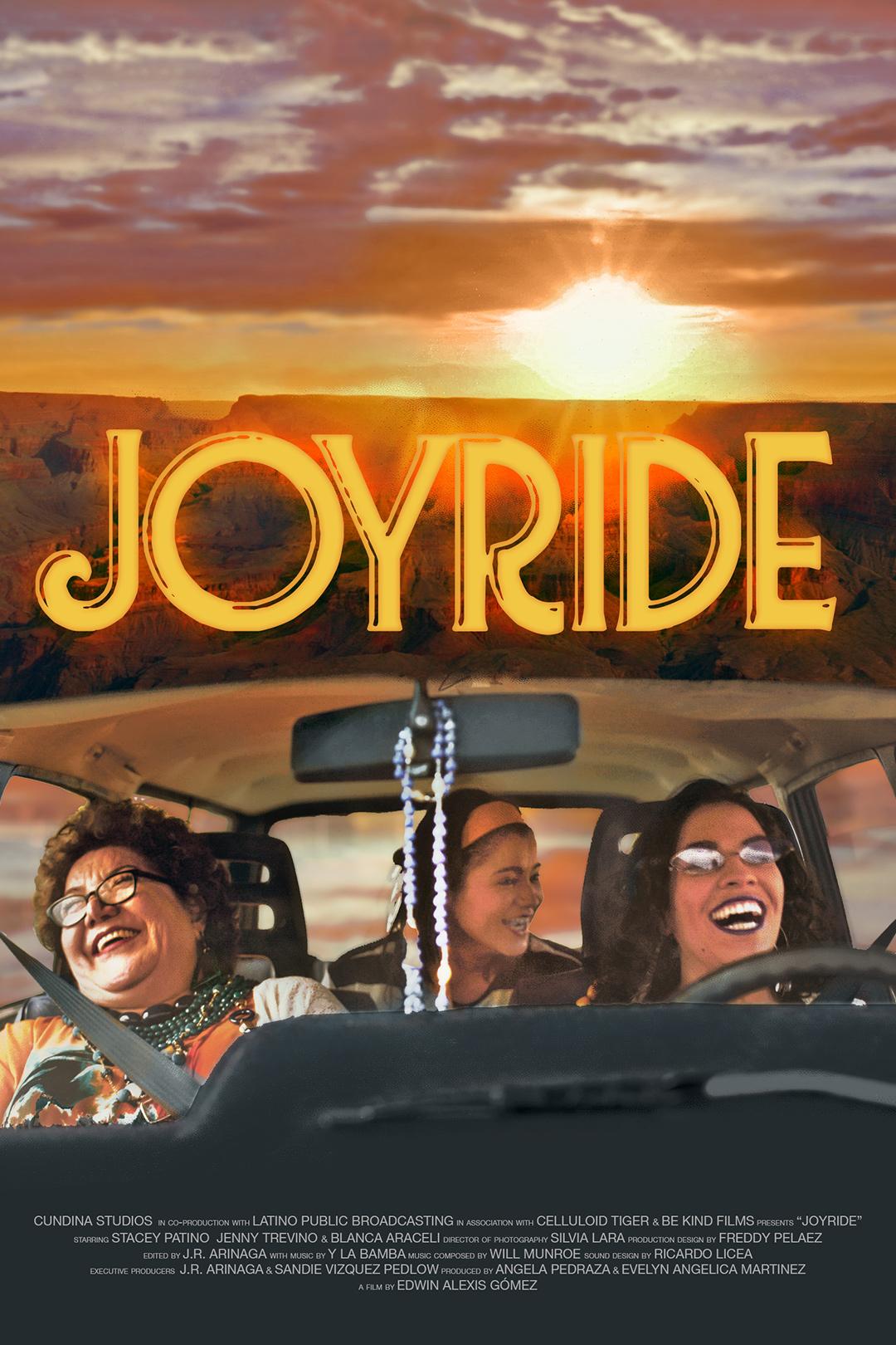 Joyride Poster_2021 - Edwin Alexis Gómez