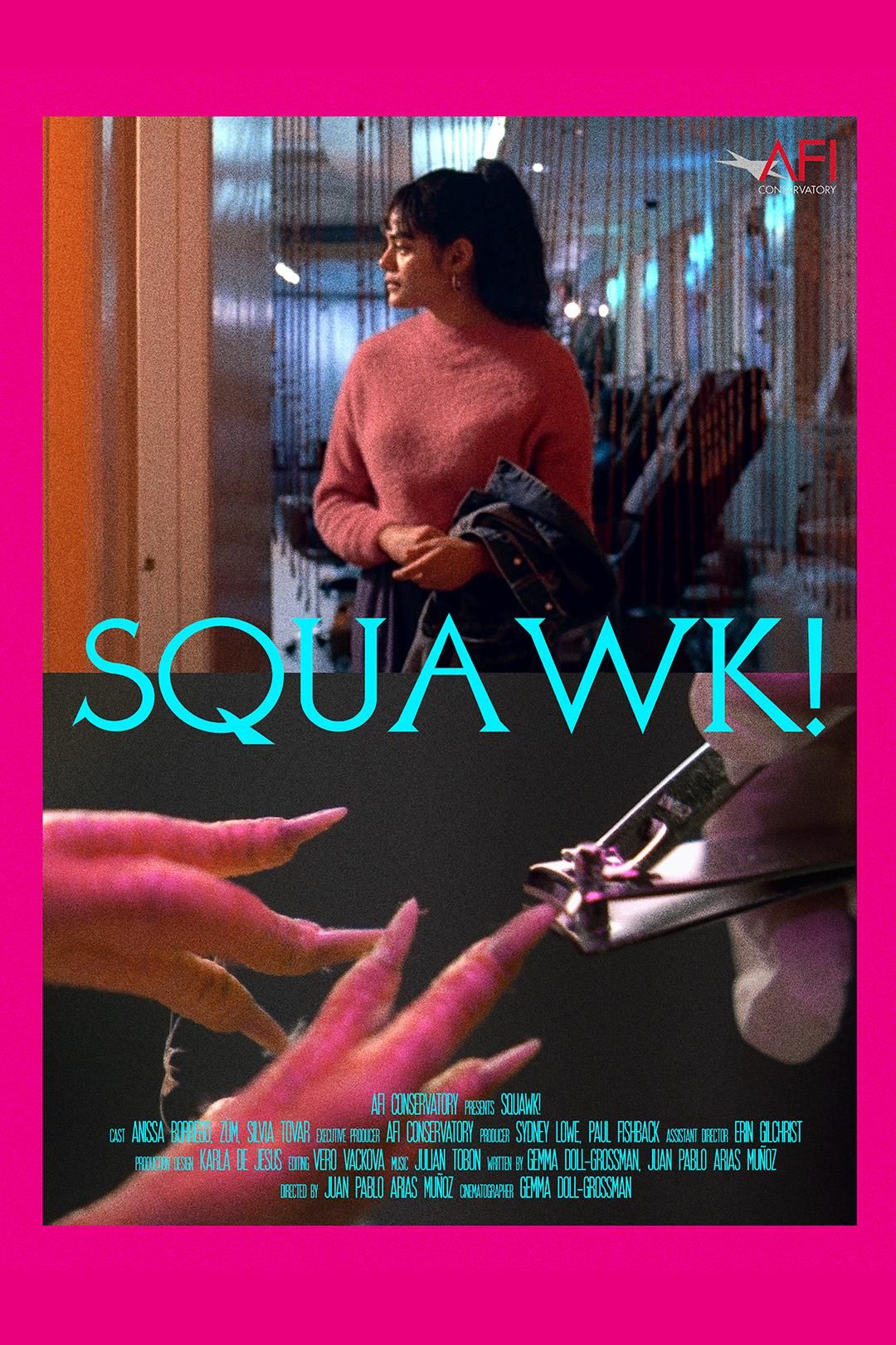 Squawk_Poster_(grainy) - Juan Pablo Arias Muñoz