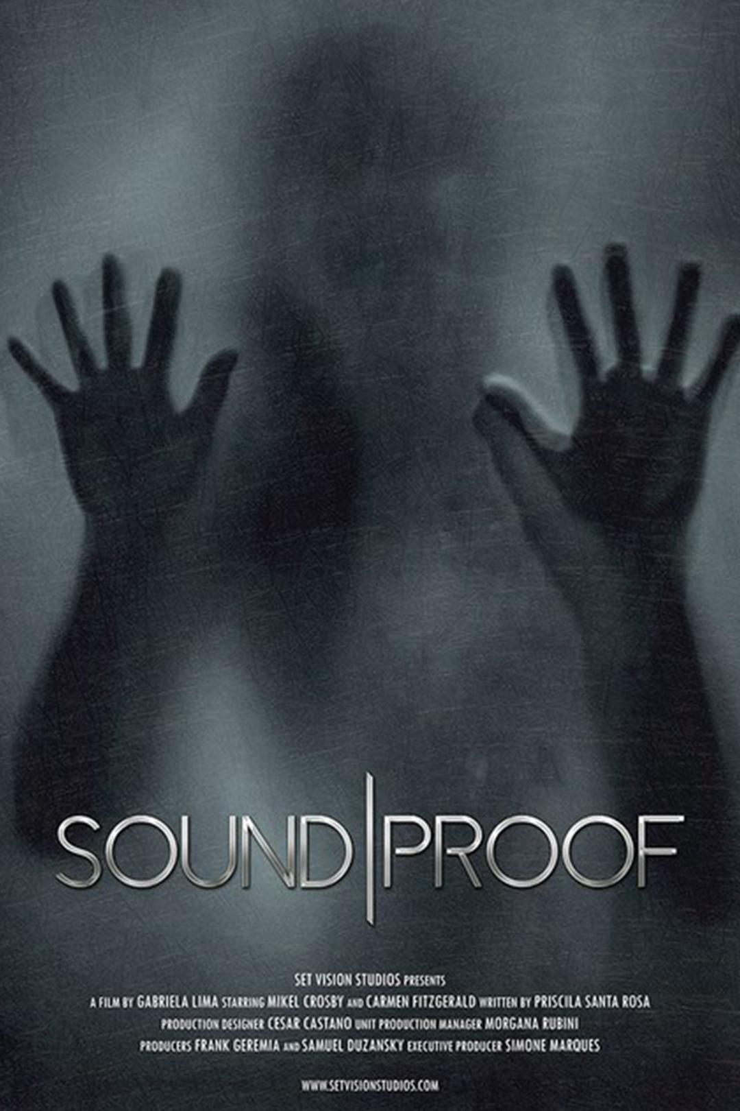 soundproof poster - Gabriela Lima