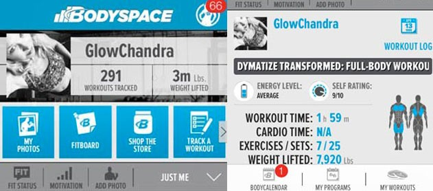 Health & Fitness Tools – Part 1: Bodybuilding.com & BodySpace