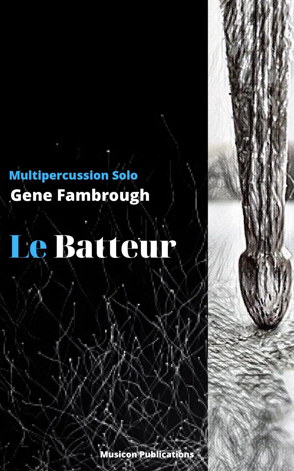 Gene Fambrough Le Batteur Music Cover
