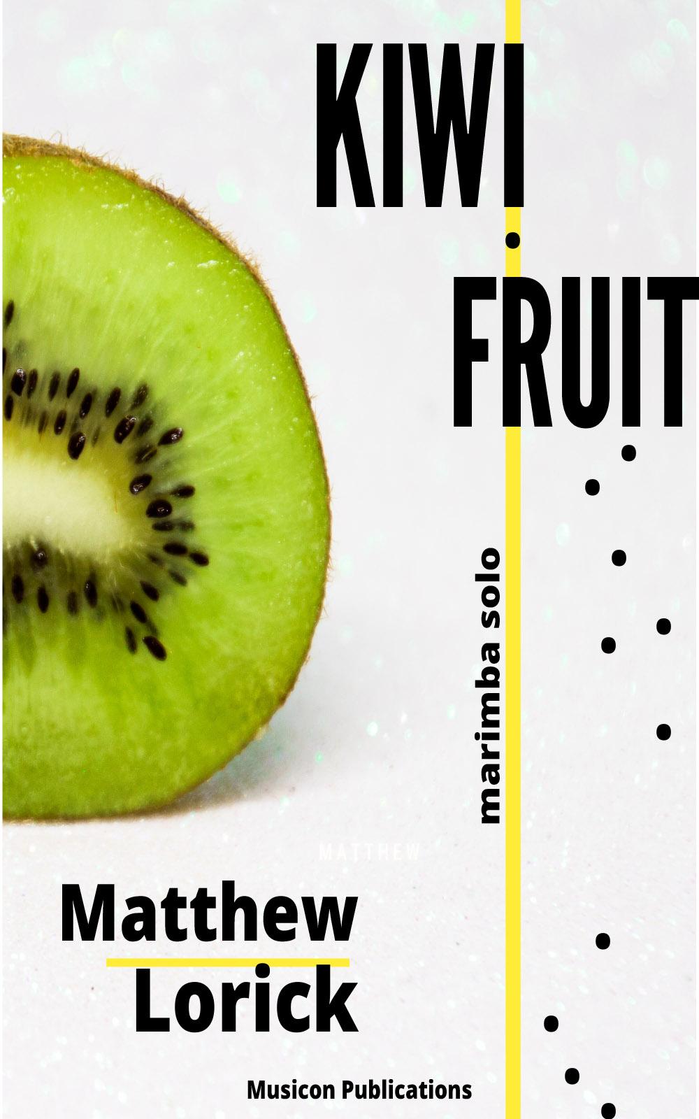Music Cover - sliced kiwi fruit