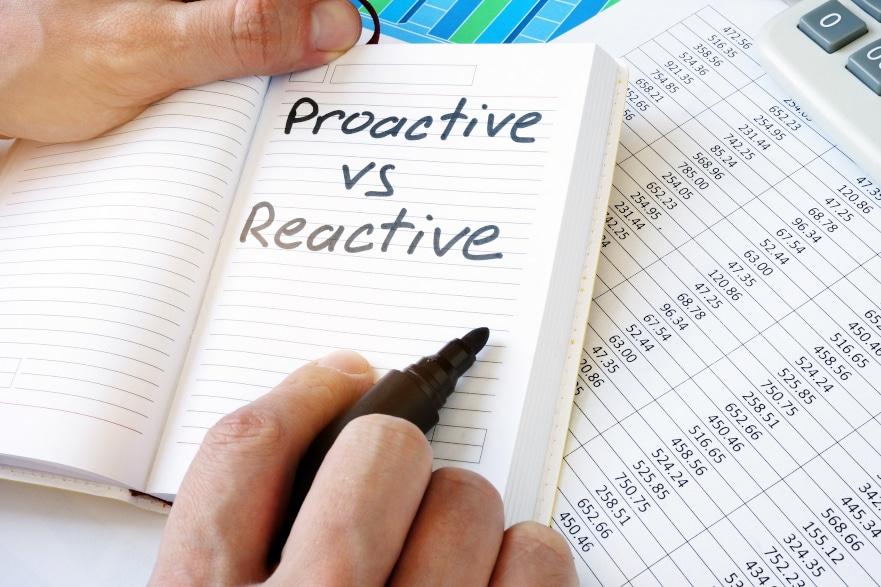 Proactive Vs Reactive