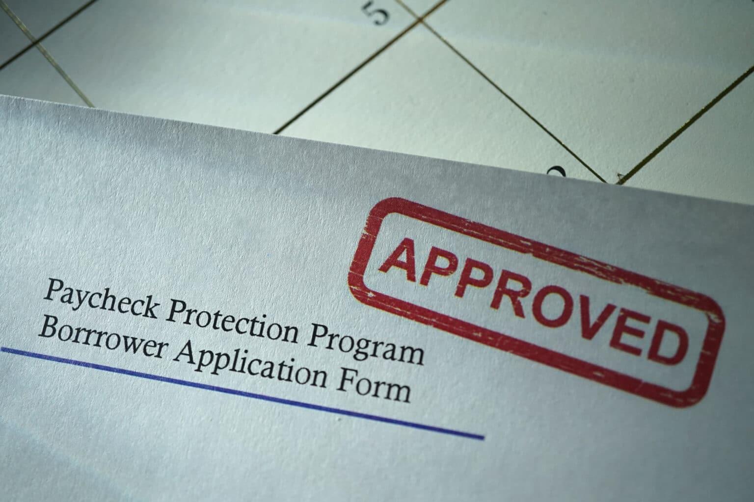 loan forgiveness payment protection program