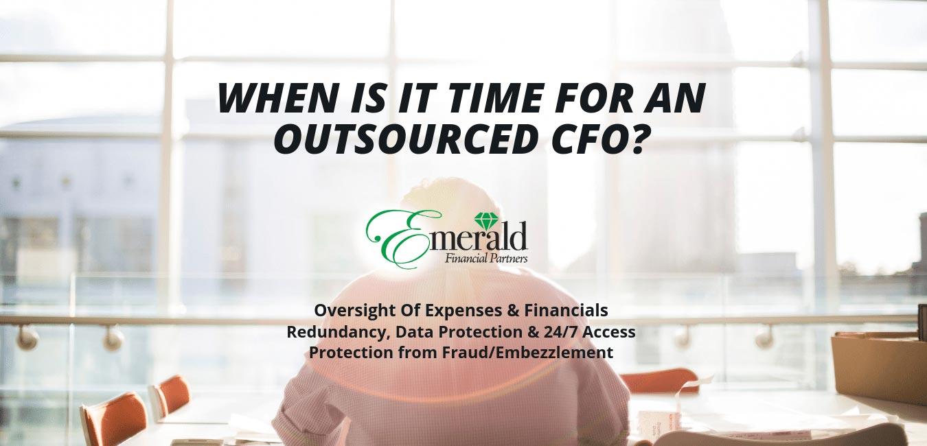Outsource you CFO duties to Emerald Financial Annapolis, MD