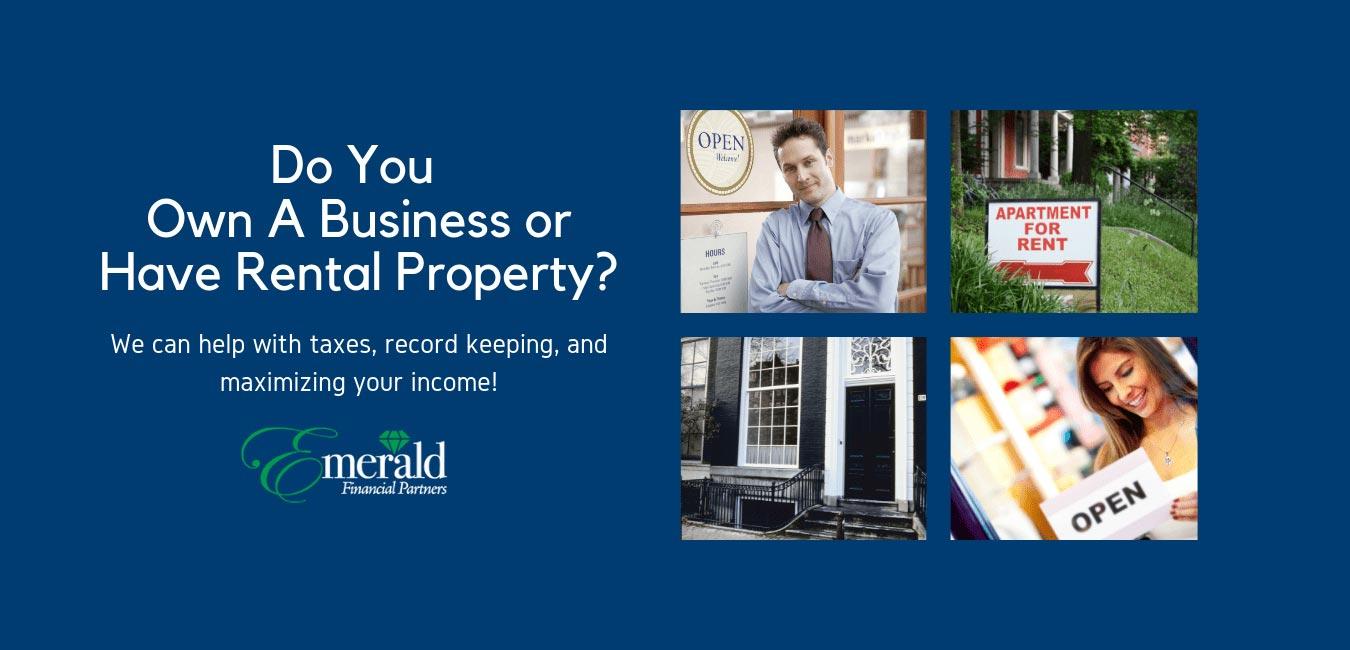 Business Owner Rental Property Investor