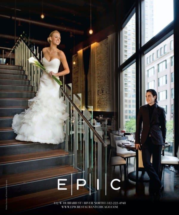 Epic Resturant Chicago Social Ad