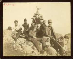 Greenland Expedition of 1891-92, with Robert Peary (rear, right) alongside Jo (U.S. National Archives)