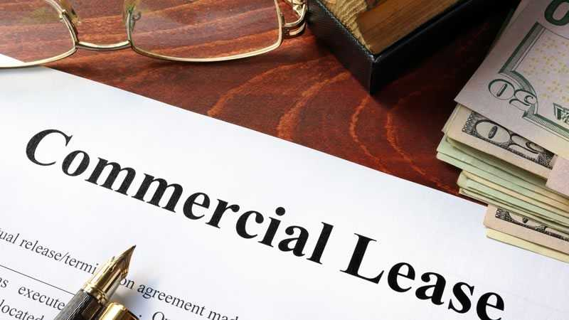 Commercial Lease - tenant representation