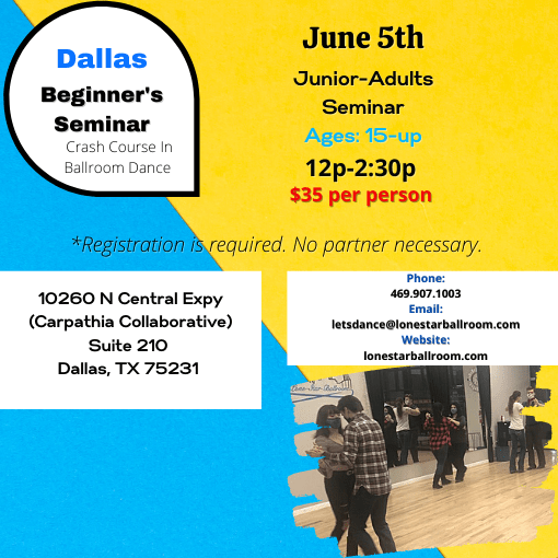 Dallas Beginner Ballroom Dance