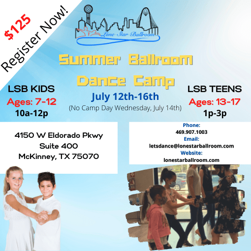 North Texas Kids & Teens Dance Camp
