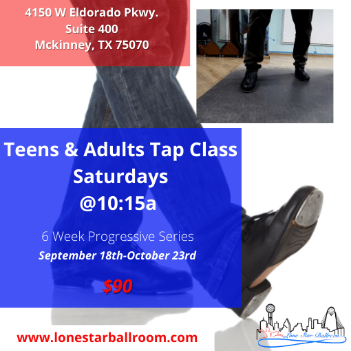 Adult Tap Class