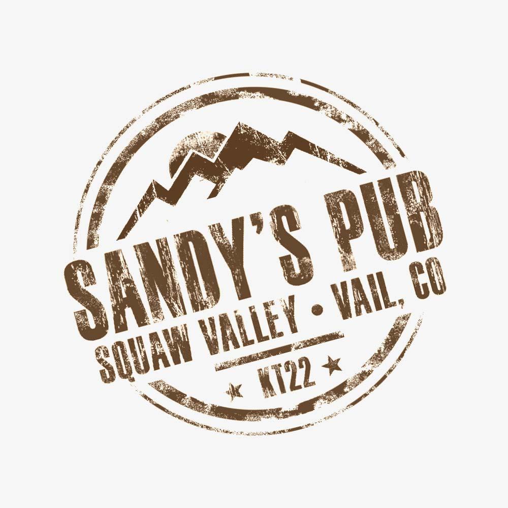 sandy's pub branding - thumb