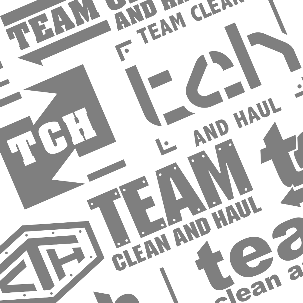 team clean and haul branding - image 02