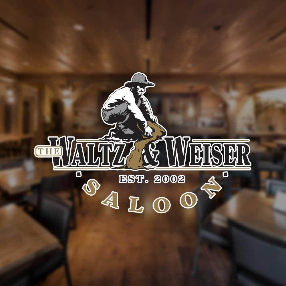waltz & weiser saloon branding - image 01