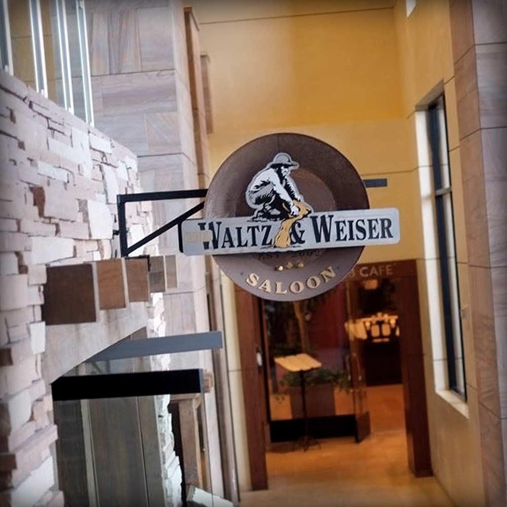 waltz & weiser saloon branding - image 02
