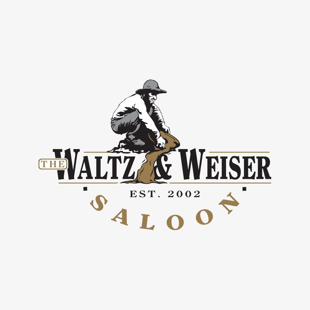 waltz & weiser saloon branding - thumb