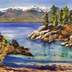 Secret Cove painting by Lori Thompson