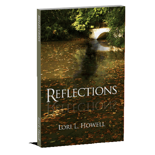 3D-Book-Cover - Reflections written by Lori Howell