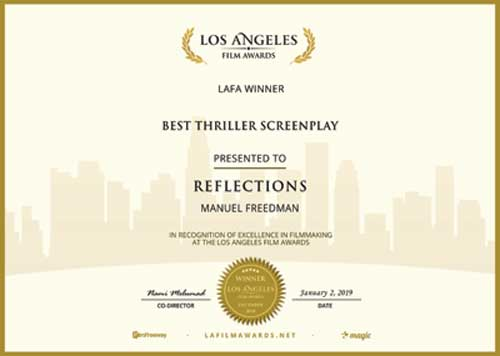 Best Thriller Screenplay 2019