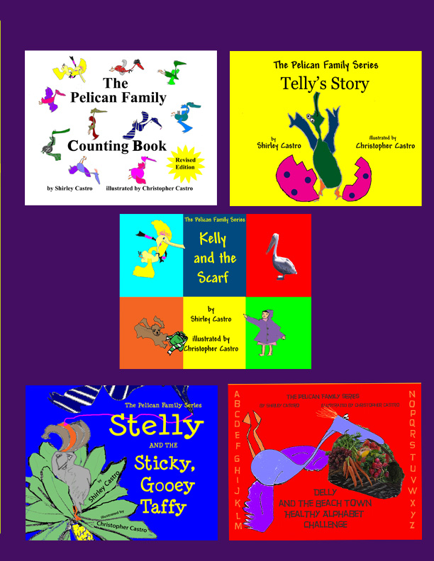 Pelican Family Series Children's Picture Books Color