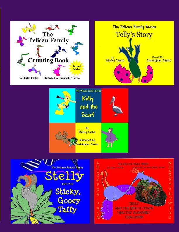 Pelican Family Series Children's Picture Books Color