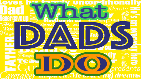 Pelican Family Series Father's Day Blog Post What Dads Do image
