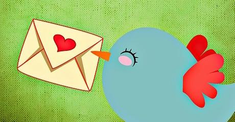 Little bird delivering love letter small kindnesses blog image