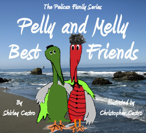 Pelly and Melly Best Friends Front Cover