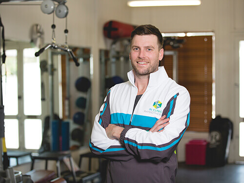 Physiotherapist James Weir