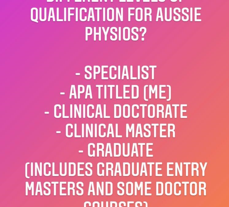 How do you choose your Physio?