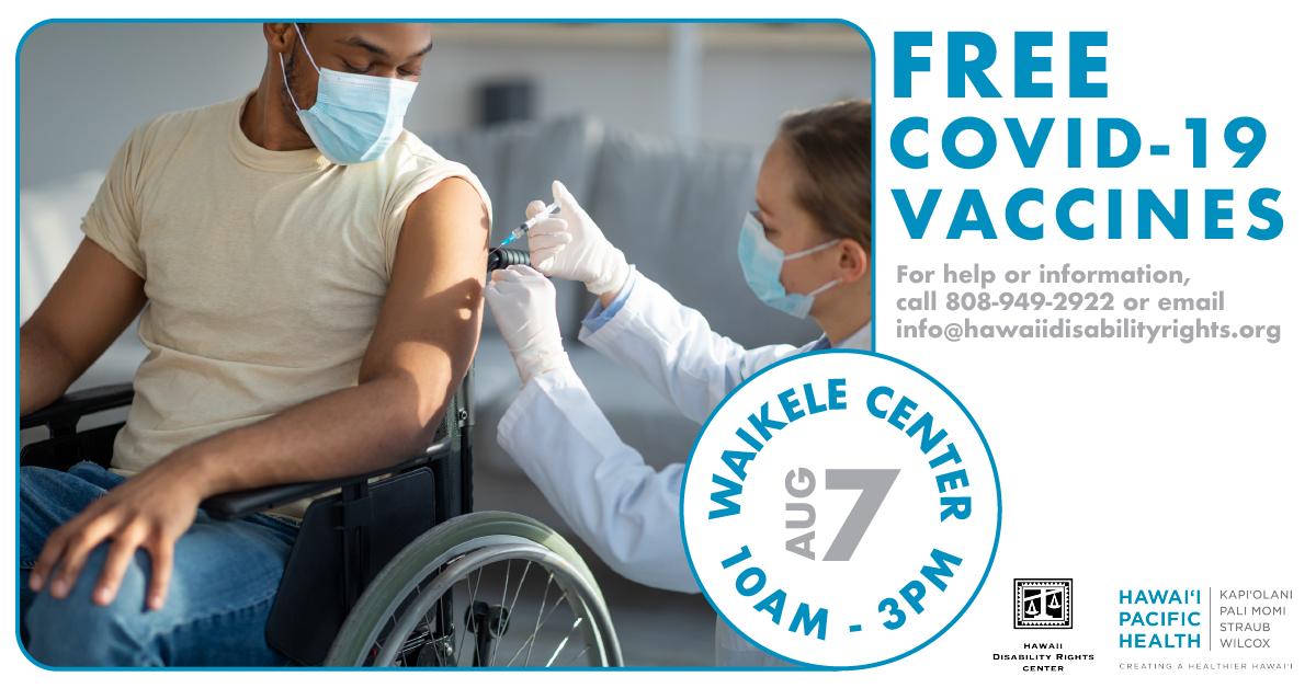 Covid-19 Free Vaccination Event