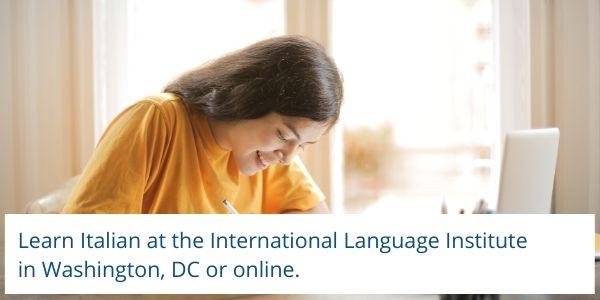 Learn Italian in DC or online