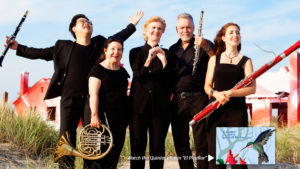 Quintet of the Americas Presents Americans in Paris and Back Again Concert @ Queens Botanical Garden | New York | United States