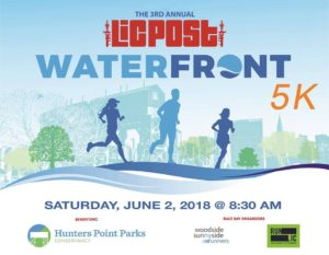 3rd Annual LIC Post Waterfront 5K @ Hunters Point South Park | New York | New York | United States