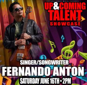 Up & Coming Showcase: FERNANDO ANTON @ Passage Irish bar & Kitchen | New York | United States