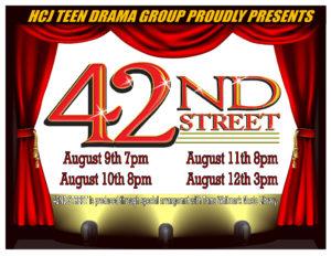 42nd Street @ HCJ Msgr. Murray Auditorium