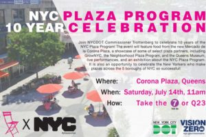 10 Year Plaza Anniversary Celebration! @ Corona Plaza