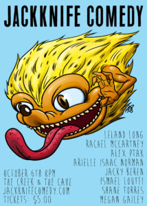 Jackknife Comedy @ The Creek and The Cave | New York | United States