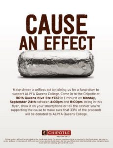 Association of Latino Professionals for America Fundraiser @ Chipotle Queens Center Mall | New York | United States