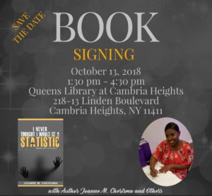 Author Celebration and Book Signing @ Queens Library at Cambria Heights | New York | United States
