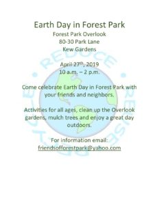 Earth Day in Forest Park @ Forest Park Overlook | New York | United States