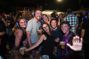 Beer Garden Silent Disco Party @ Bohemian Hall & Beer Garden