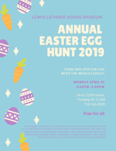 Annual Easter Egg Hunt 2019 @ Lewis Latimer House Museum | New York | United States